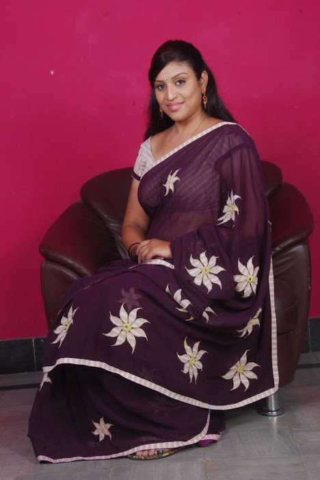 uma character artist in saree cute stills