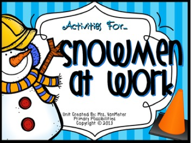 http://www.teacherspayteachers.com/Product/Snowmen-at-Work-Literature-Study-Printables-1017526