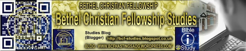 Bethel Christian Fellowship Studies