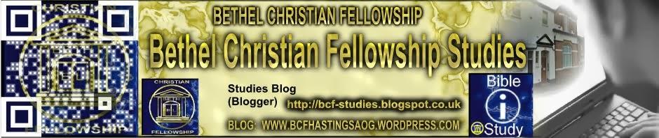 Bethel Christian Fellowship Studies