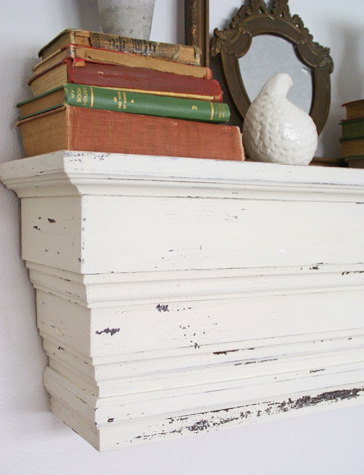 the speckled dog pottery barn knock off chunky wall shelf rh thespeckleddog blogspot com chunky floating wall shelves Wall Brackets for Shelves