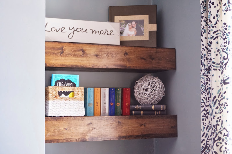 Chunky Wood Floating Shelf