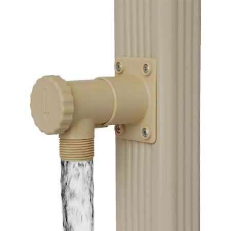 Sas gouttieres alu 32 collecteur d 39 eau de pluie - Collecteur eau de pluie gouttiere ...