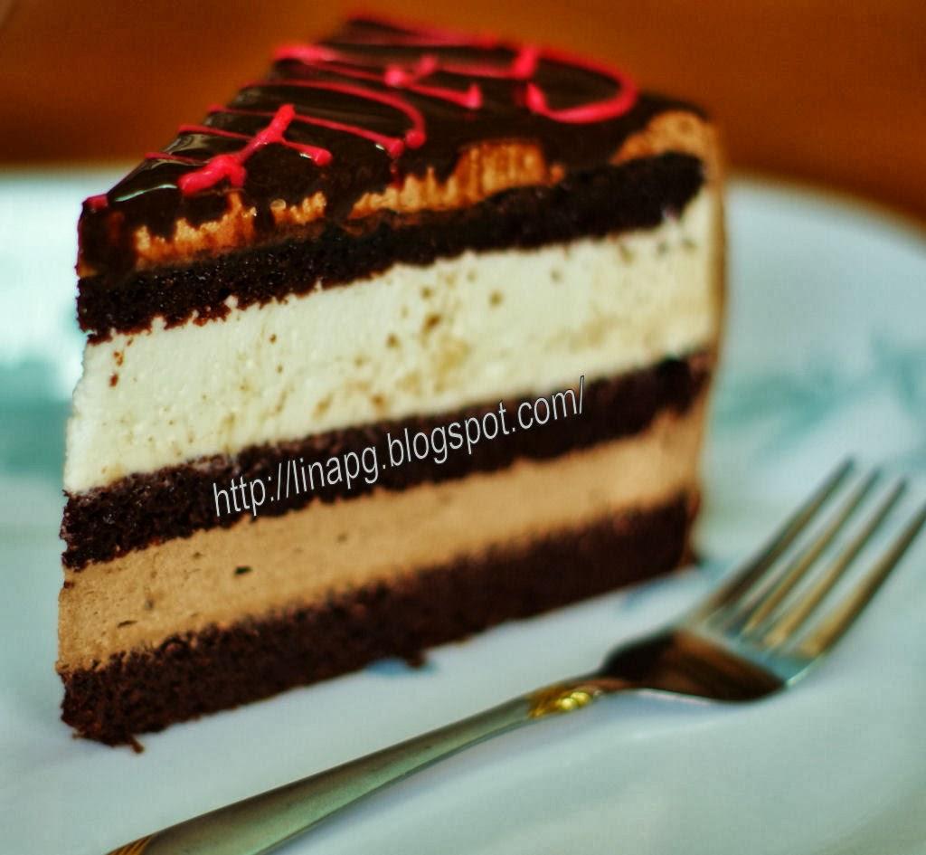 Indulgence Chocolate Cheese Moist Cake (ICCMC)
