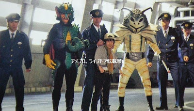 LET'S GO KAMEN RIDERS Shocker