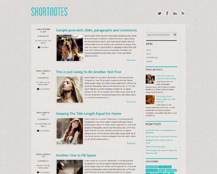 Shortnotes