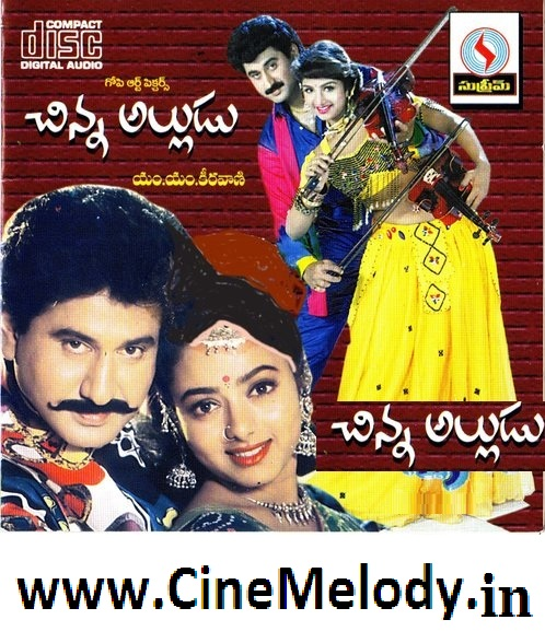 Chinna Alludu Telugu Mp3 Songs Free  Download -1993