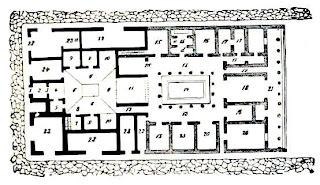 Storia romana pianta di una casa romana for Una storia a pianta aperta