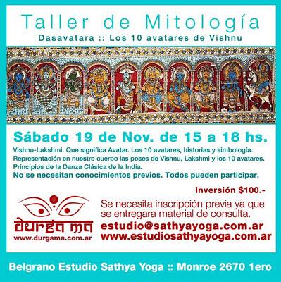 Estudio sathya yoga taller de mitologia de la india - Taller de las indias ...