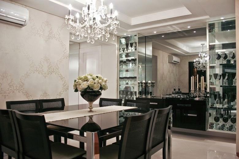 Sala De Jantar Mesa Quadrada ~ Salas de jantar com 8 e 10 cadeiras  veja mesas quadradas