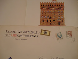 Convite Bienal Firenze / Itália