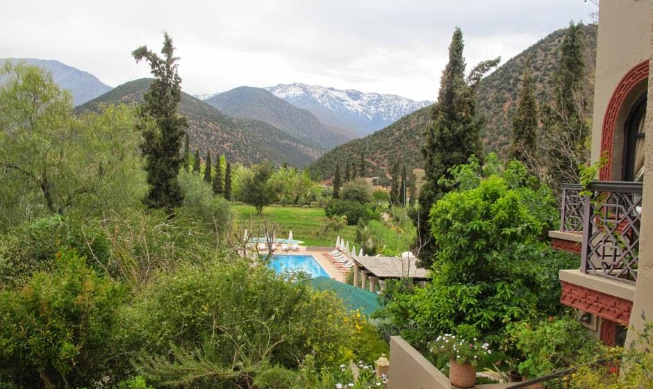 High Atlas Moroccan montaigns