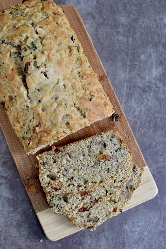 Wholewheat Zucchini Quick Bread