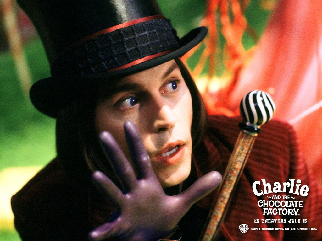 Resistance is futile: Charlie and the Chocolate Factory, by Roald Dahl