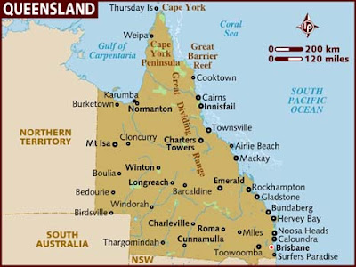 Queensland Regional Map