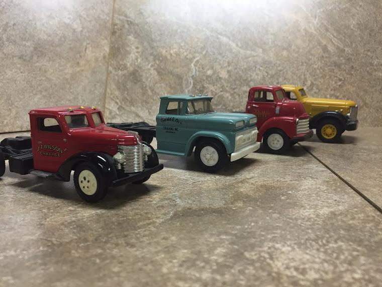 Set of Vintage Semi Trucks ~