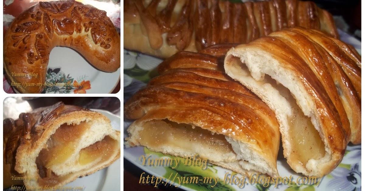 Пирог из свежих яблок рецепт