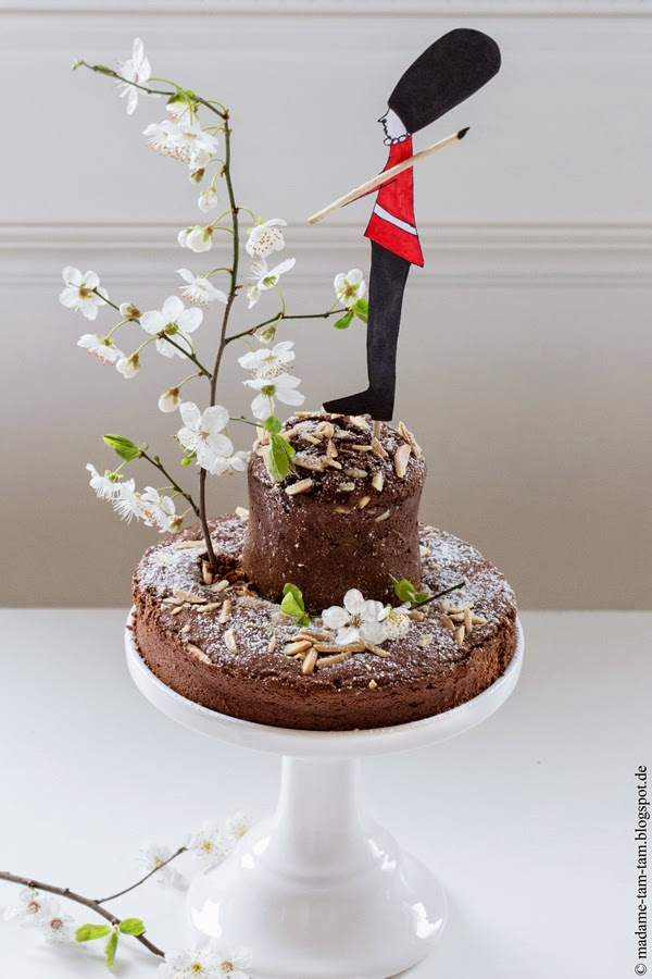 #schokoladenkuchen, #schokoladenmandelkuchen, #madametamtam
