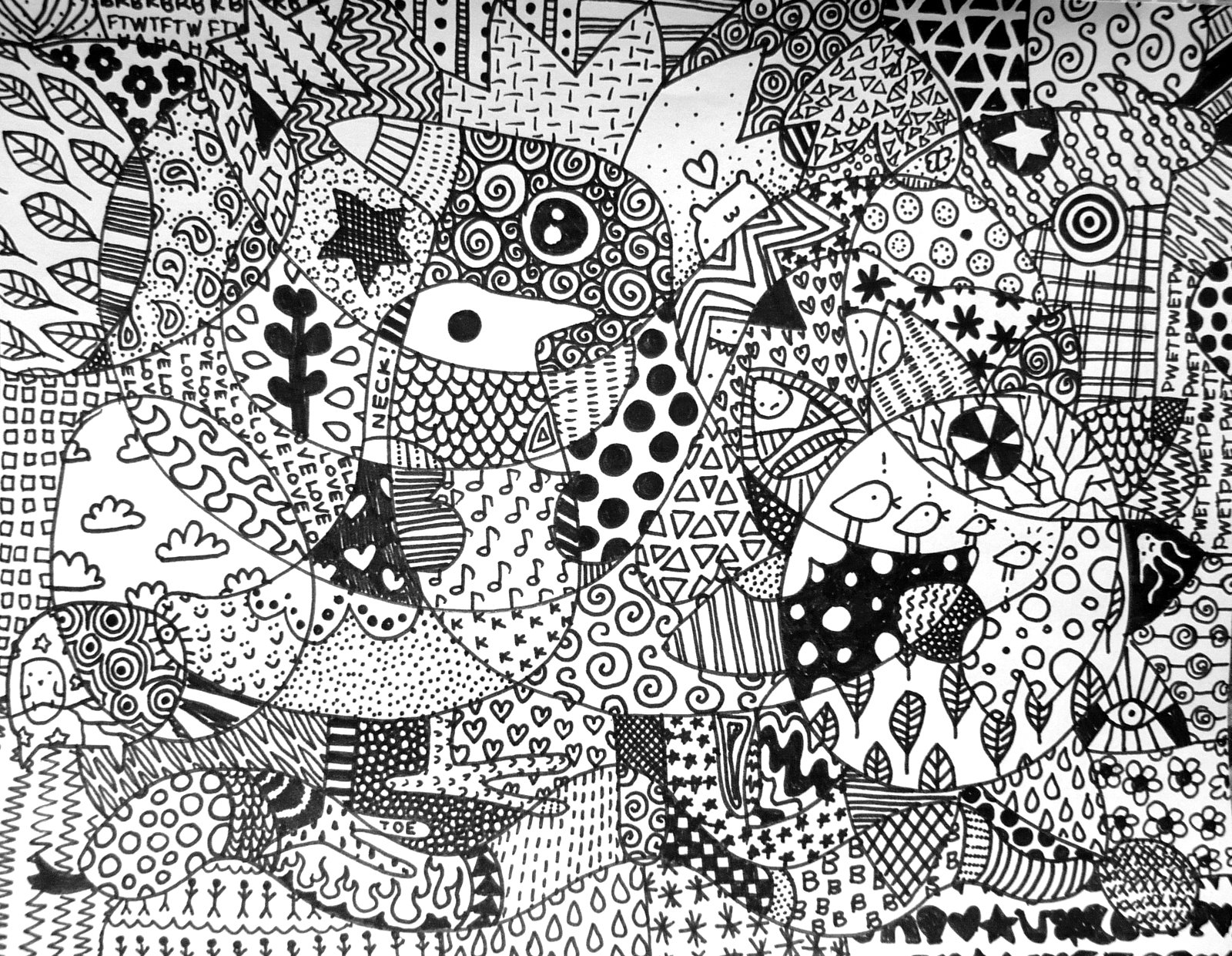 Zentangle Patterns Life as a Casual Teach...