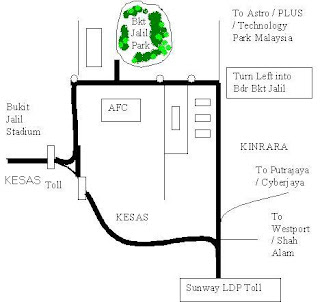 location address Bukit Jalil Park