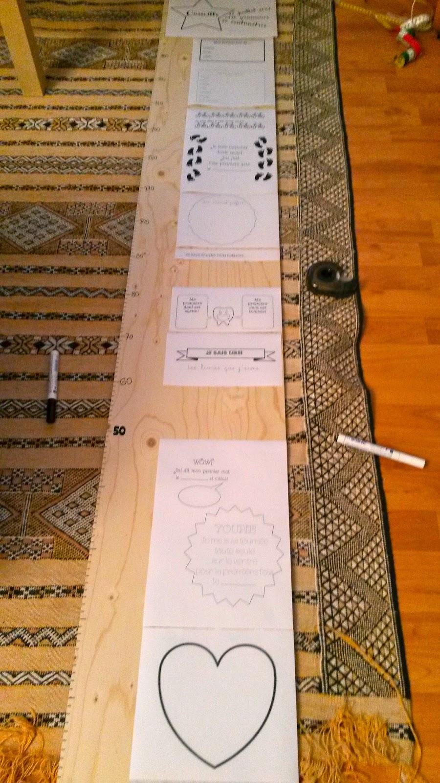 nadia barthlom un cadeau pour b b une toise. Black Bedroom Furniture Sets. Home Design Ideas