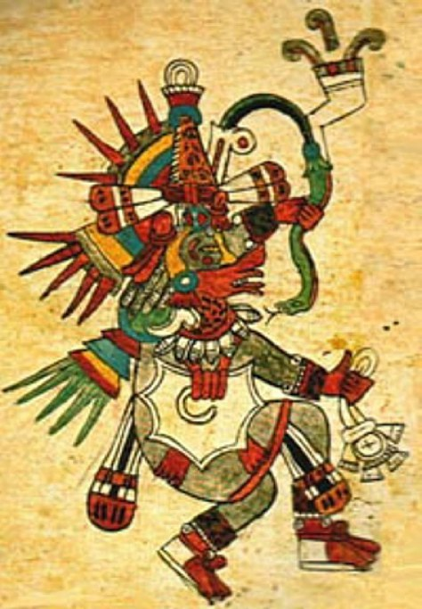an introduction to the mythology of quetzacoatl the aztec god Mexico before cortez and after: aztec mythology recounts them emerging from the seven caves of chicomoztoc in a place called aztlan—the the aztec god.