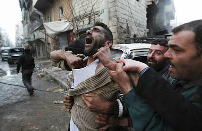 Lors d'un bombardement en Syrie : Un père vient d'apprendre la mort de deux de ses enfants