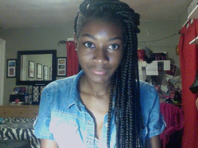 Displaying (17) Gallery Images For Layered Box Braids...