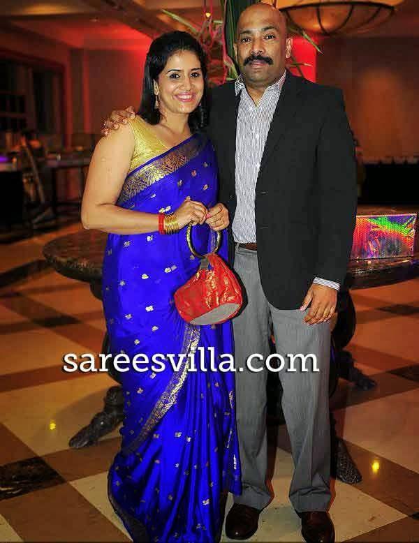 Sonali Kulkarni with hubby Nachiket Pantvaidya