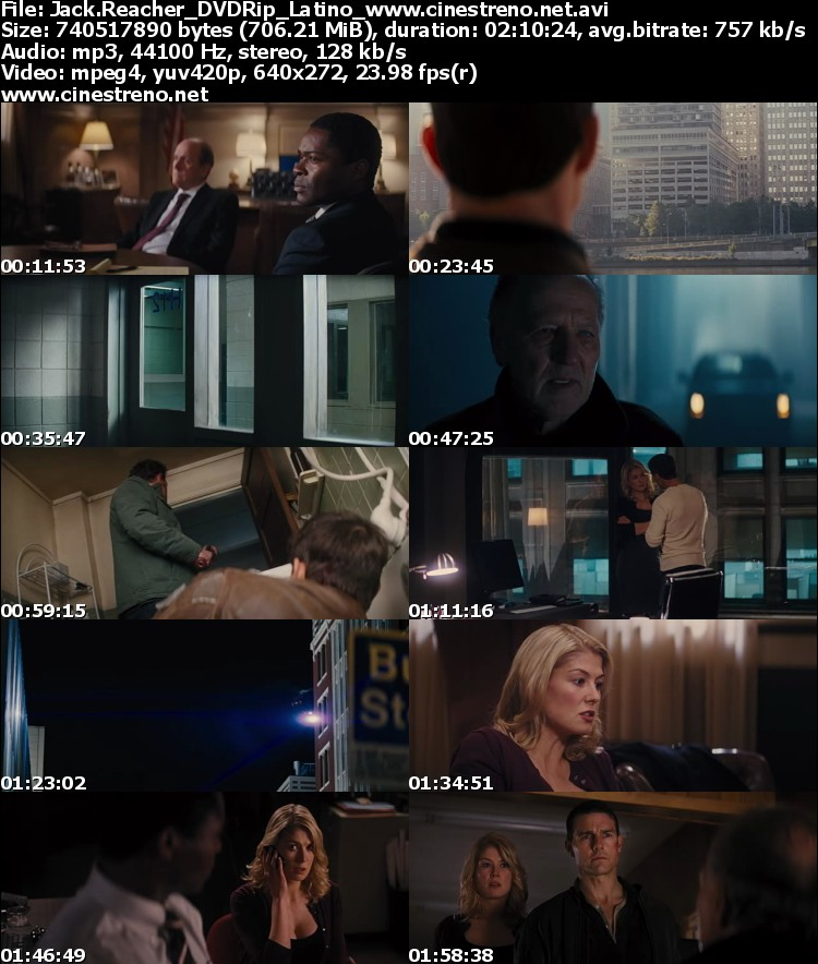 Jack Reacher (2013) [DVDRip] [Latino]