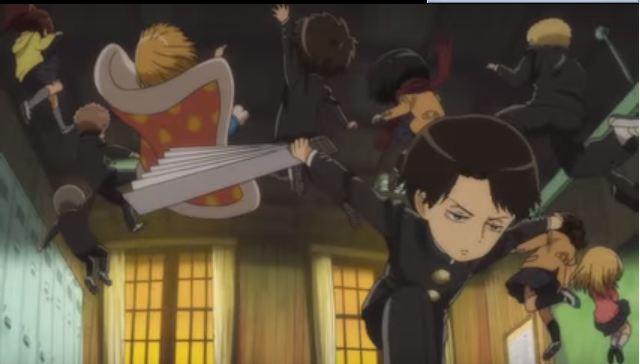 Lagu Penutup Diungkapkan Pada Video PV Ketiga Anime 'Attack on Titan: Junior High'