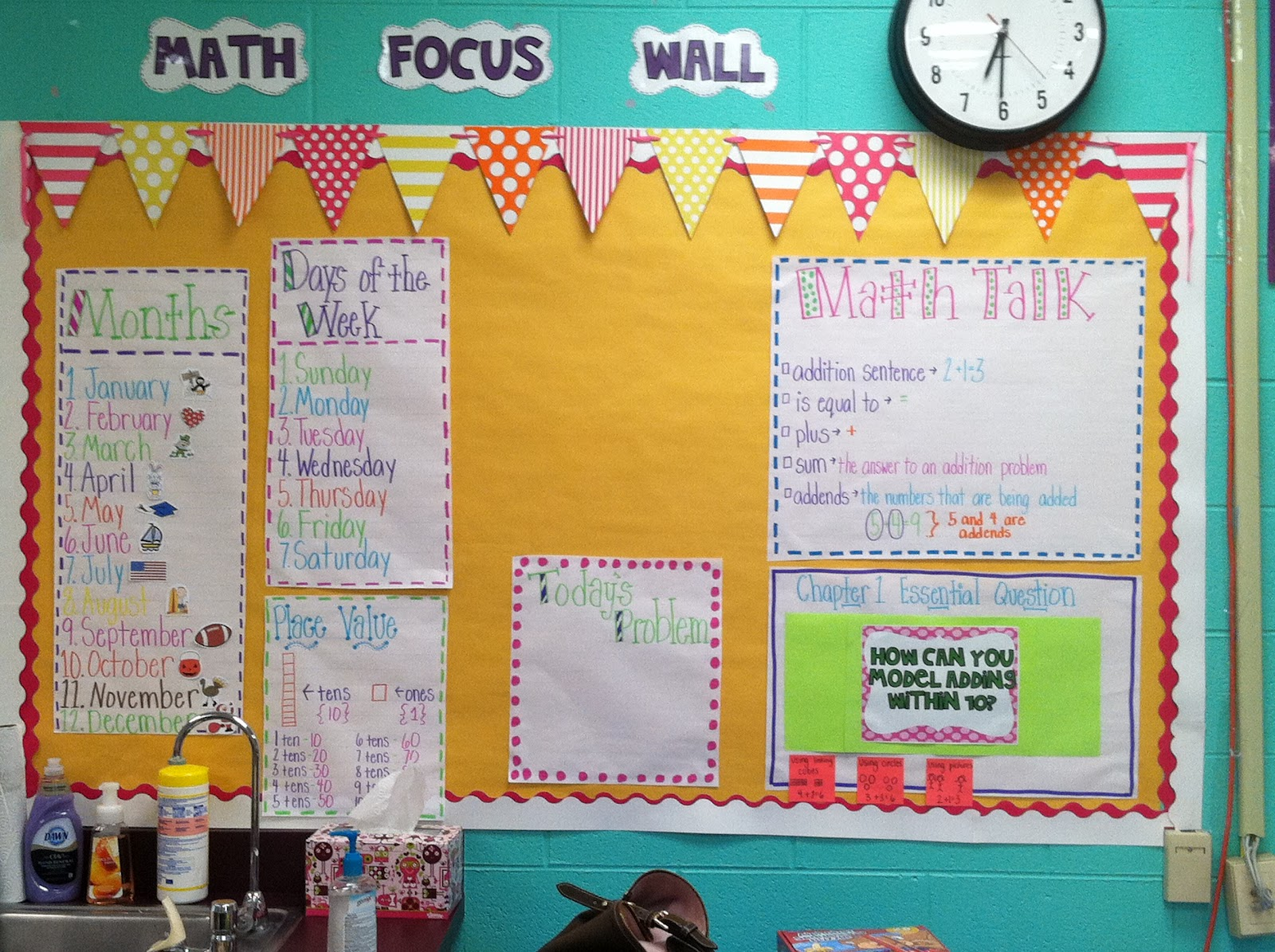 Southern Sweetie In Second Math Focus Board