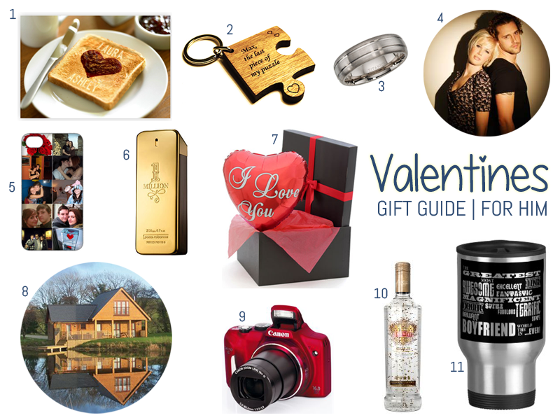 Valentines Gift Guide For Him ♥ #valentines #valentinesday # ...