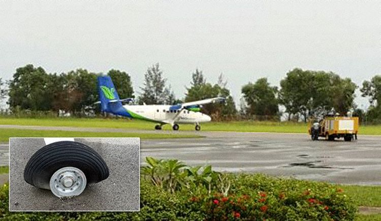 Mukah Malaysia  city photos : Twin Otter Spotter : Incident Report 9M SSD at Mukah, Malaysia