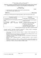 Subiect model cultura civica - titularizare 2012