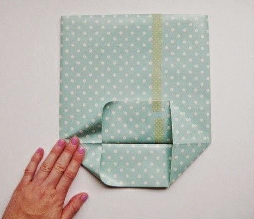 Como hacer una bolsa con papel de regalo portal de - Como hacer bolsas de regalo ...