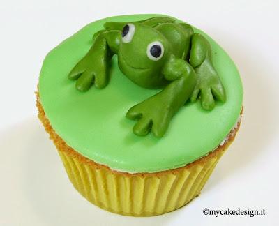 passo a passo cupcakes con le rane ispirate alle frogs & co. di de agostini