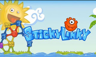 Screenshots of the Sticky Linky for Android tablet, phone.