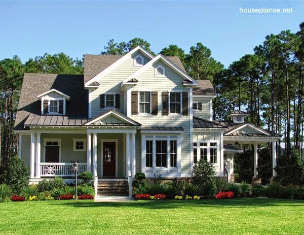 Arquitectura de casas 24 fotos de casas estilo country for Casas estilo americano