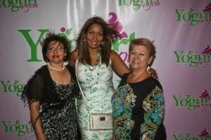 Rosario Trujillo, Oslan Osorio y Xiomara Colmenares.