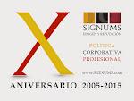 SIGNUMS Imagen y Reputación celebra este 2015 ¡10 años de fundación!