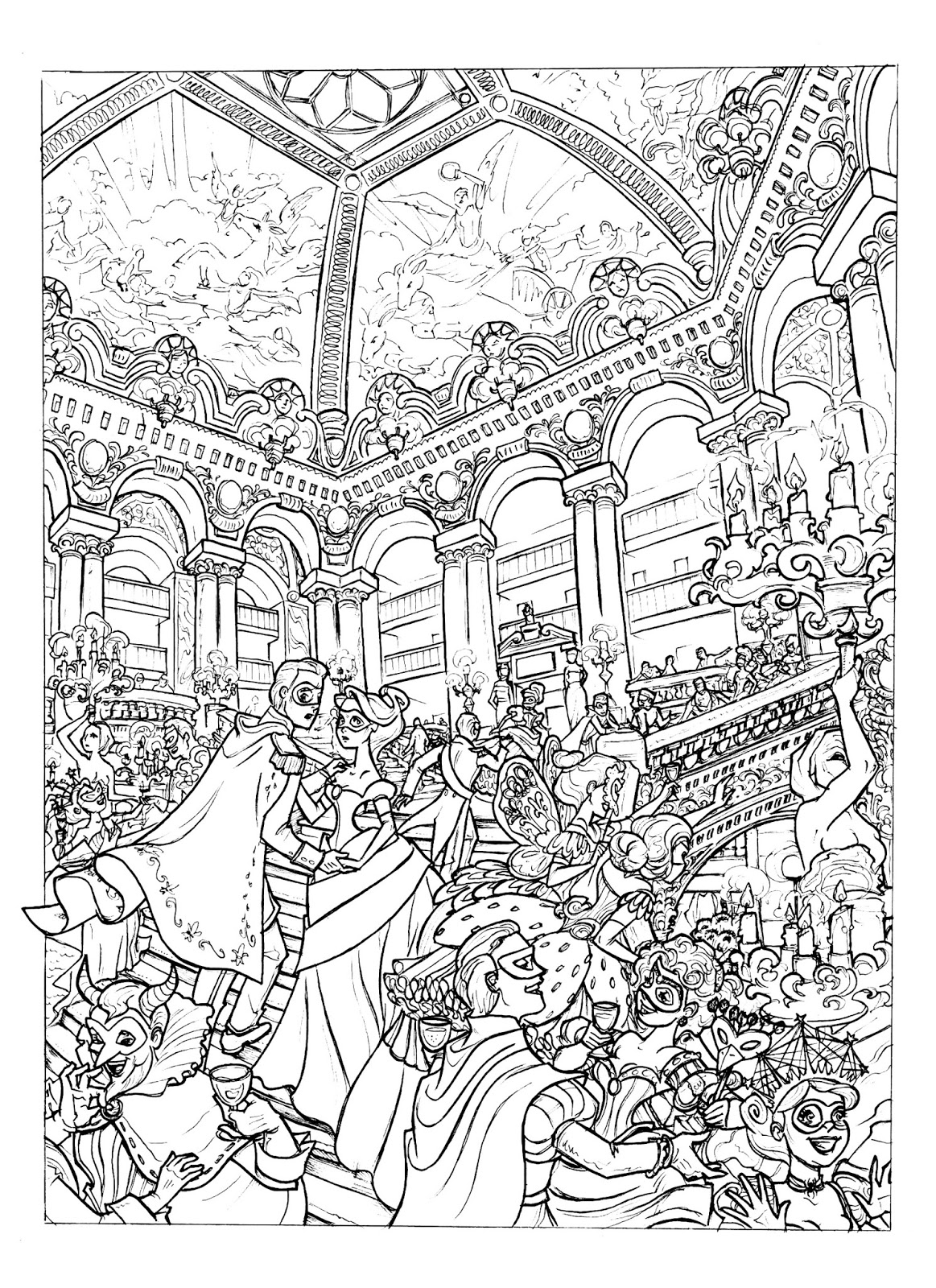 opera coloring pages - photo#2