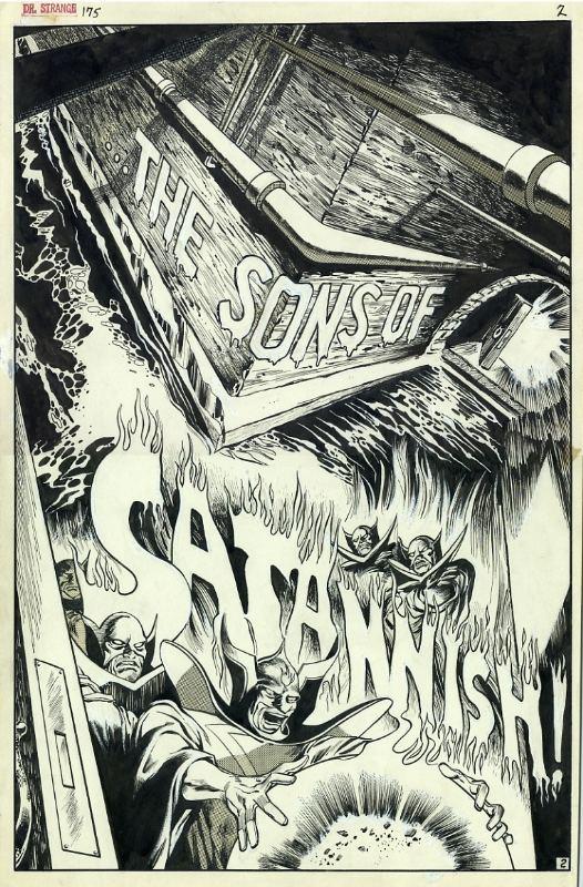 Gene Colan - Doctor Strange - Satannish