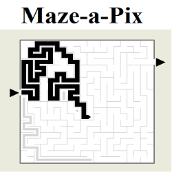 Online Maze-a-Pix Puzzle