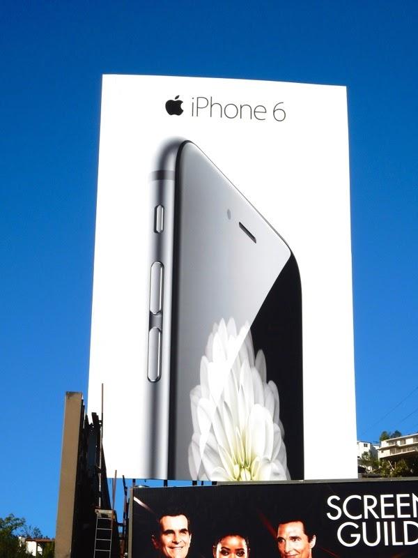 Apple iPhone 6 2nd wave billboard