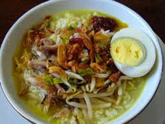 resep praktis dan mudah membuat (memasak) masakan soto ayam khas lamongan spesial enak, lezat