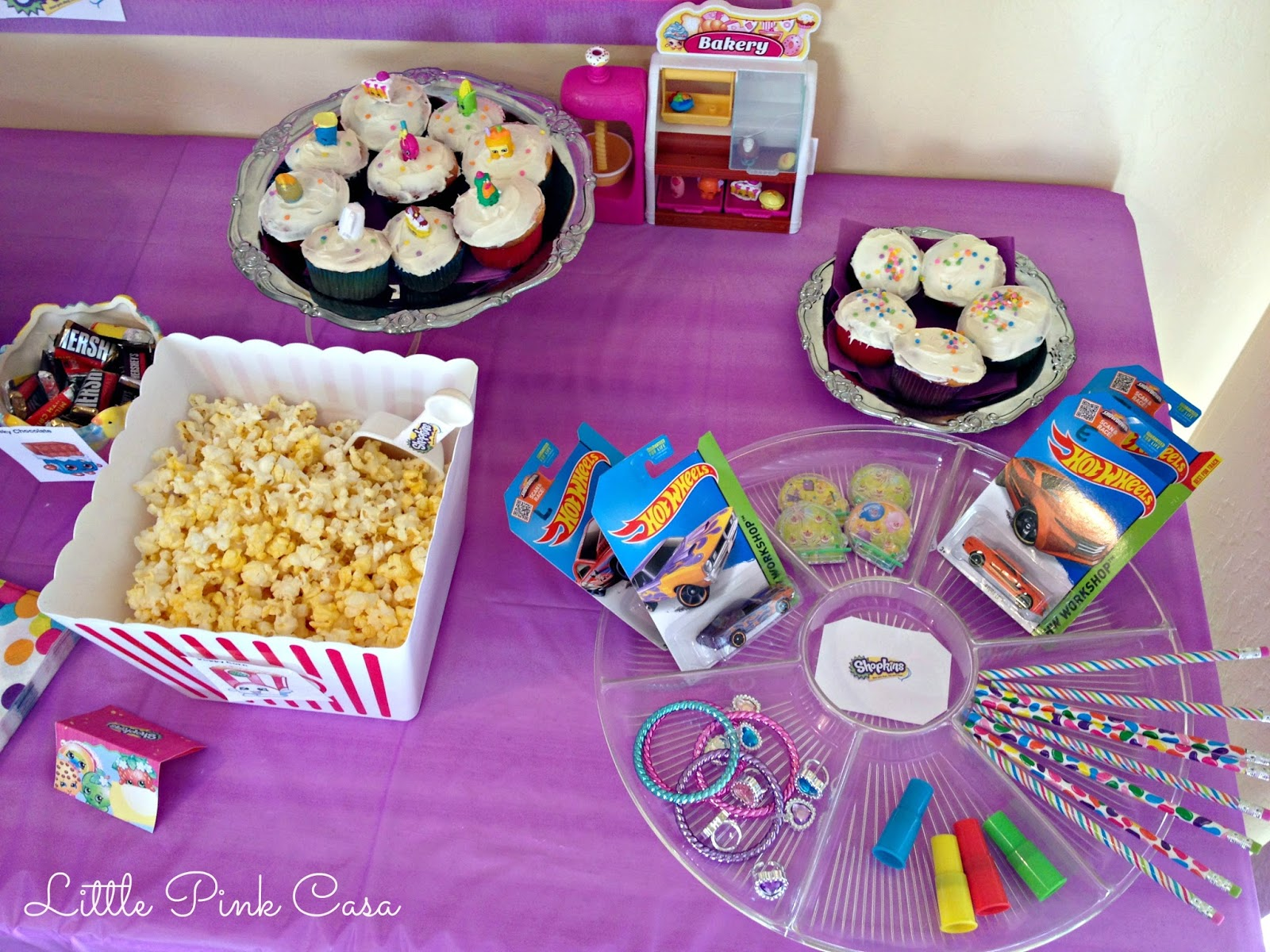 Hadara s Shopkins Birthday Party on a Bud