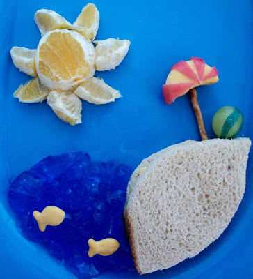 food gifts: beach lunch
