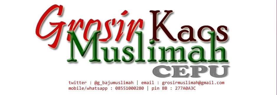 CEPU Grosir Kaos Muslimah