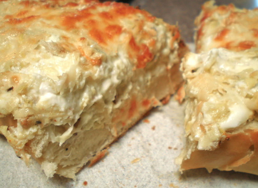 how to make french bread crusty again
